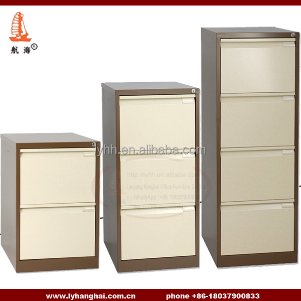 Beige Fashion Steel Furniture Drawer Cabinet for Filing Hanger Folder With Dividers Environmental steel home office cabinet