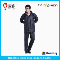 Maiyu polyester waterproof reusable rain poncho