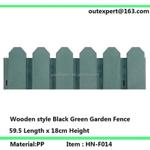 Wooden style Garden Fence