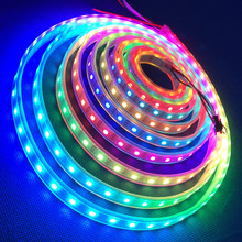 5050 smd rgb led strip ws2811 60LED/M RGB water proof high lumen 5050 smd led light rope blue led light for outdoor