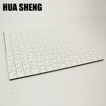 gloss white sublimation jigsaw mdf puzzle for heat press
