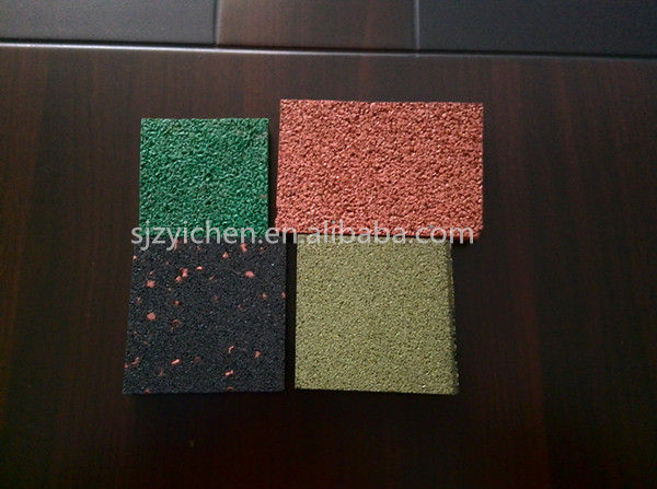 Yichen spray rubber flooring/sports floor/gym/household