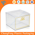 High-end luxury 0.3m PET material clear industrial design box