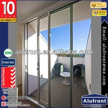 Guangzhou Manufacturer UPVC frame interior french doors sliding