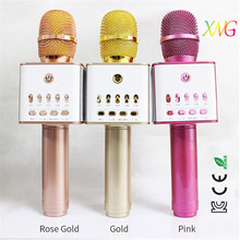 Q7/q9 professional portable bus karaoke microphones with TFcard