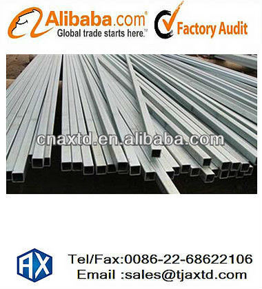 ASTM A 500 pre galvanized square pipe,chinese trading companies export to usa