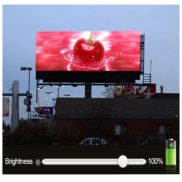 [Free] HD P10 full color outdoor advertising LED display screen