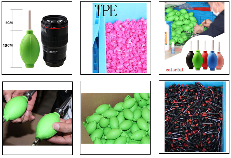 factory hot TPE rubber small air blower, mini cleaning blower for computer