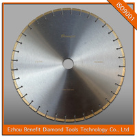 Fast cutting speed 500mm circular saw blades for marble slabs cutting