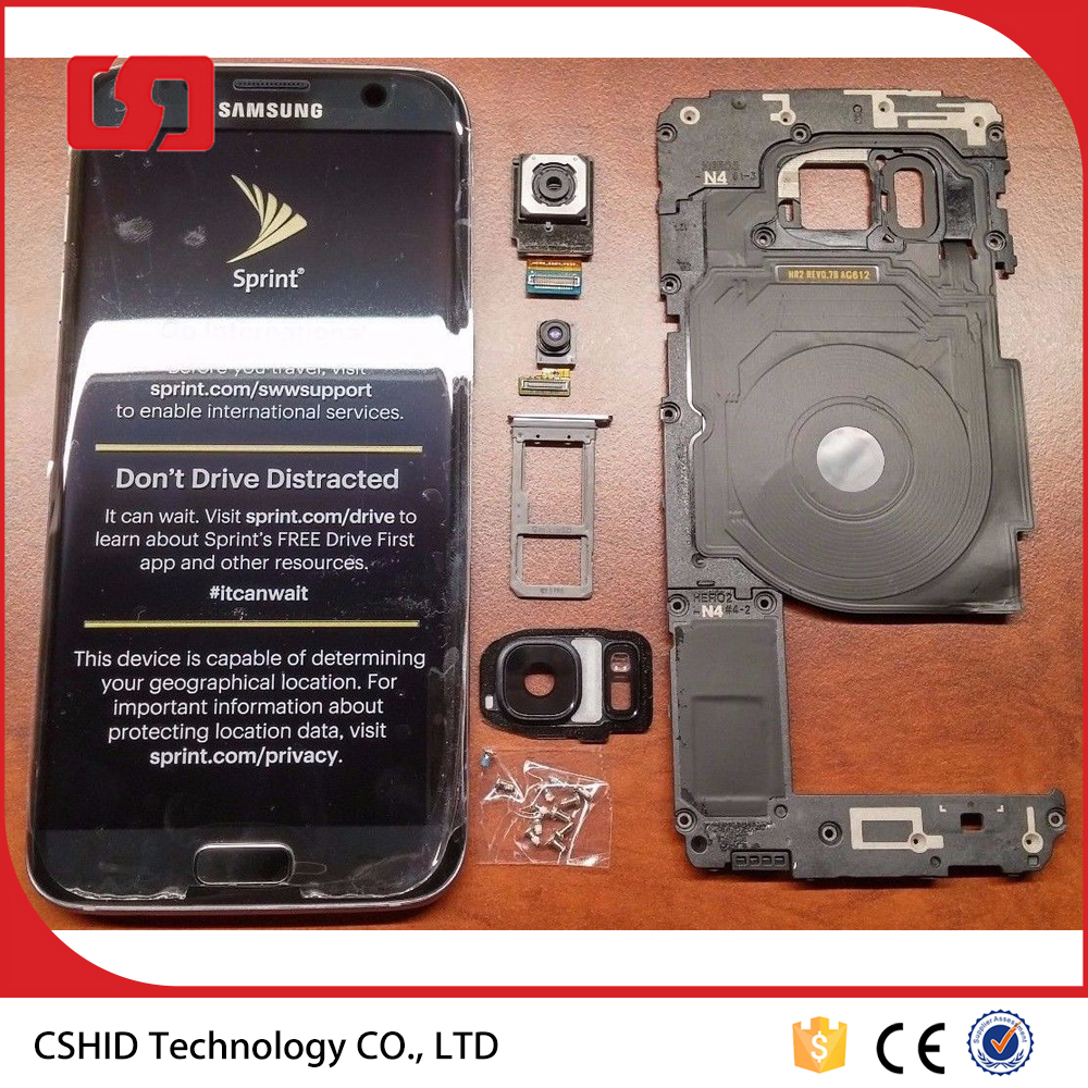LCD display Digitizer Touch Screen Assembly For Samsung Galaxy S7 Edge G935A G935T G935V G935F G935P with Frame