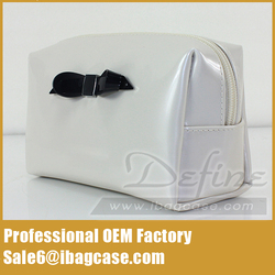 Fashionable Patent Leather Cosmetic Bag Hot