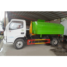 Dongfeng kaipute 115 Hp 4*2 rear loader garbage truck