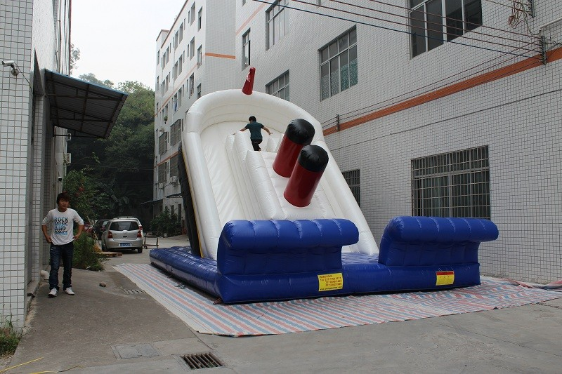 Hot sale Kids love Amusement Park Inflatable Slide for fun