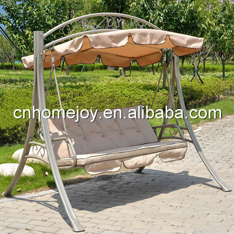 High quality garden swing bed, patio swing bed, modern luxury beds with mosquito net