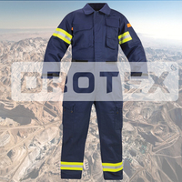 Hi Vis Flame Resistant Blue Wear Rough China Coal Mine Sanfor Safety Overall Workwear,Hivis Flame Retardant Mining Workwear