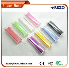 2014 newest Special ABSPower Bank Cylindrical External Battery Charger for Mobile Phone