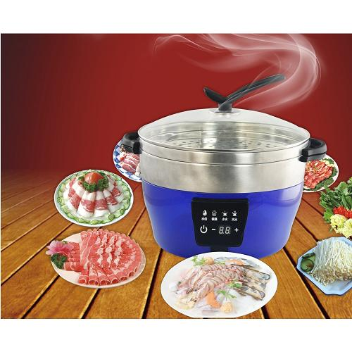 fast heat Full Nutrition Steam seafood cooker plastic food steamer