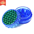 2017 Wholesale High Quality Plastic Grinders JL-198J-4 Herbal Plastic Grinder