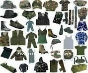 military equipment clothing