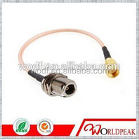 N Female B/H to SMA Male electric ip67 cable jumper