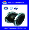 Flexible Single Ball flange type compensator rubber galvanized expansion joint compensator