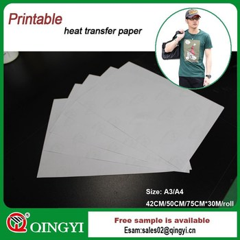 self weeding inkjet transfer paper Hanrun® paper industrial co, ltd manufacturer of inkjet dye sublimation paper since 2009 laser dark self weeding heat transfer paper we offer heat transfer paper for cotton t-shirts, can be for dark and light colored fabric.