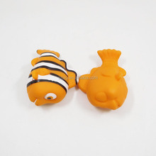 High Quality Vivid Cartoon Mini Fish Model Toy Inflatable Plastic Nemo Fish Toy