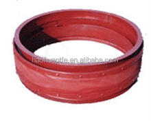Red Color Silicone Coated Fiberglass for Expension Joint
