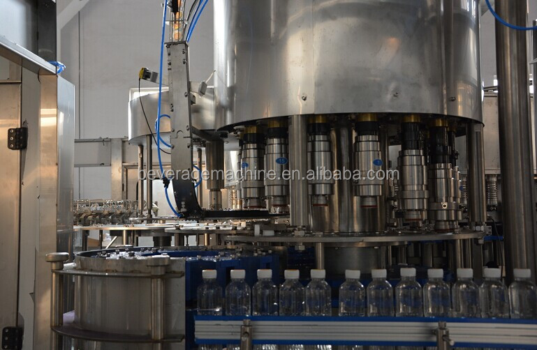 Automatic High Quality Pet Bottle Pure Mineral Drinking Water Filling Machine Bottling Line