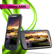 Wholesale holiday sale MTK6577 dual-core Lenovo A800 mobile phones 4.5inch capacitive screen android dual card