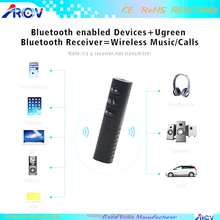 Wireless Bluetooth Receiver 3.5mm Jack Bluetooth car Audio Music Receiver Adapter Car Aux Cable Free for Speaker Headphone