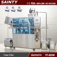 TF-80M Automatic plastic tube filling and sealing machine, Tube fillers, Tube Filling machine