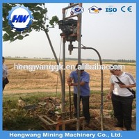 hydraulic piling rotary rig drilling equipment small digging machine, Max depth customized, Hydraulic Rotary Drill Rig