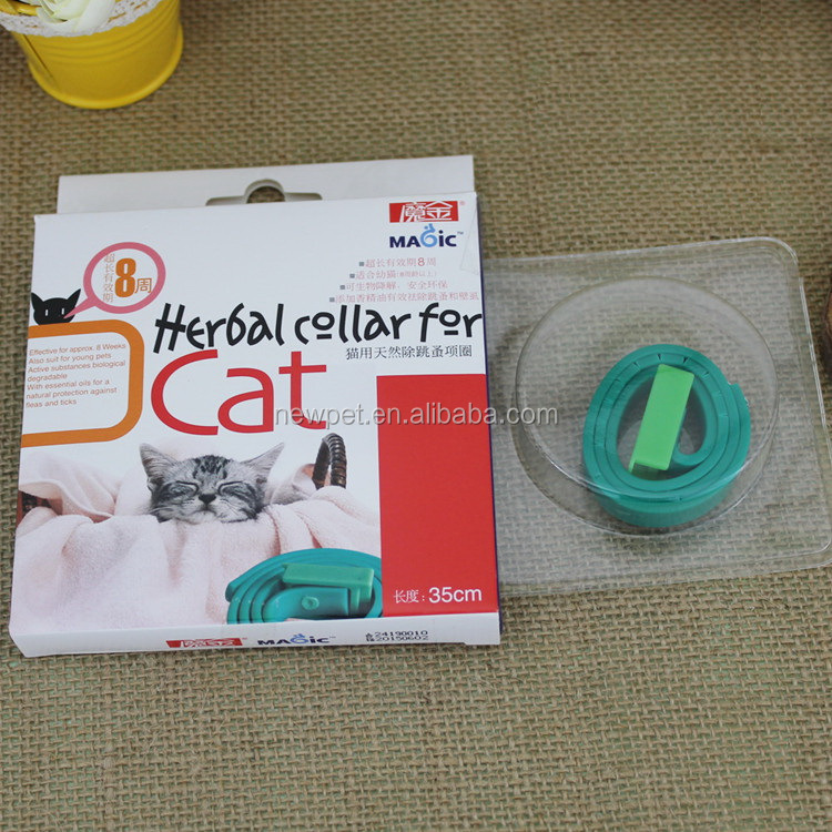 Various styles best selling herbal pet collar cat buckle collar for cat