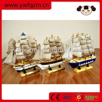 wholesale wooden boat wooden sail boat wholesale 33cm