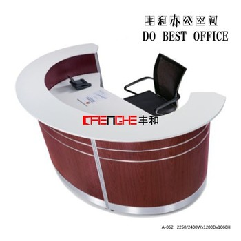 reception desk display case tanning salon reception desks
