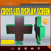 "PanaTorch ""Making the LED Smarter"" Cross Screen Dual Colors RG For Pharmacy Advertising"