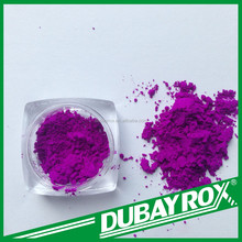 Violet Fluorescent Pigments for Paper Coatings