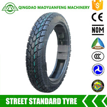 two wheeler electric china motorcycle tyre 2.75-14 with high quality inner tube or tubeless tyre