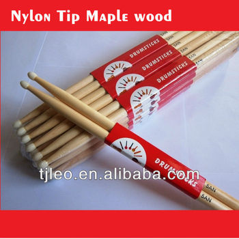 Nylon Tip Maple cheaper Drumsticks