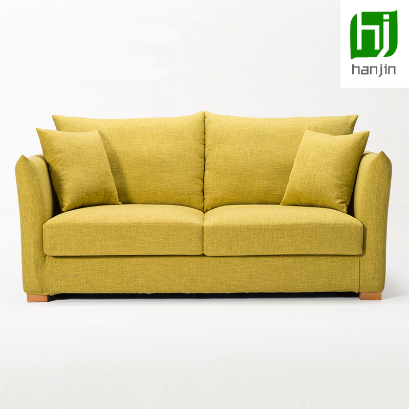 Dickson Small family cloth art sofa combination solid wood of sitting room sofa