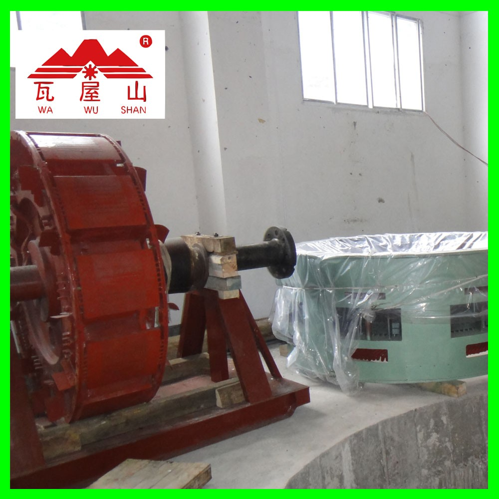 vertical Axial Flow Turbine power plant 50kw mini hydro