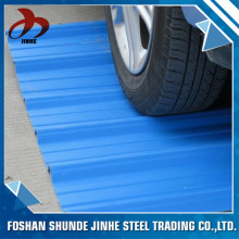 China supplier foshan companies color coated zinc aluminium cheap metal roofing sheet for workshop
