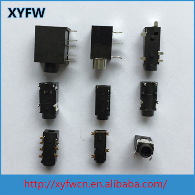 China Factory Smd Mp3 Mp4 3.5Mm Audio Jacks Connector Jack Smt 5Pin