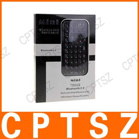 Mini Bluetooth Keyboard for Android/WinCE/Nokia Symbian S60 Cellphones (Black)