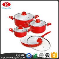 Aluminum Ceramic Cooking Pots And Pans