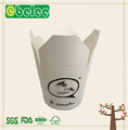 disposable paper container for noodle with custom printed