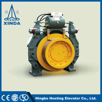 Gearless Elevator Small Electric Motors With Gearbox