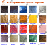 3d epoxy floor coating used metallic pearlescent pigments