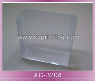 Custom Size Printed Clear PVC box plastic box for packaging